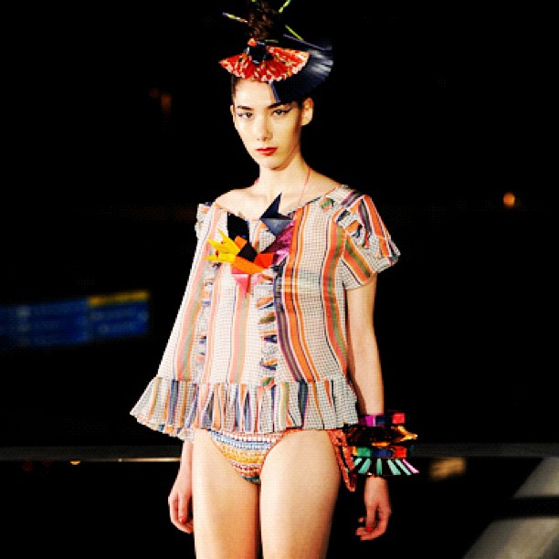 Malu Bortolini para Salinas SS 2013 - Elle Summer Preview